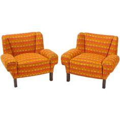 Pair Rare 1948 Paul Laszlo For Herman Miller Lounge Chairs