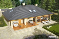 Projekty domów ARCHIPELAG - Alan II G2