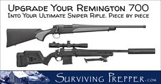 Remington 700 Upgrade: Let's focus on what you can do to your existing Remington 700 rifle to improve the accuracy and the aesthetics of it.