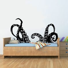 Octopus tentacles arms Vinyl Wall Art Decal Sticker