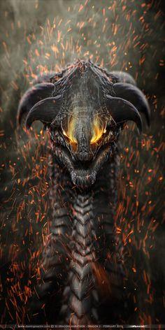 55 Dragon Marathon redesigned piece. by damir-g-martin.deviantart.com on @DeviantArt