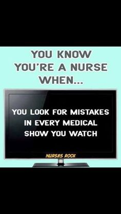 Medical TV shows are WRONG!