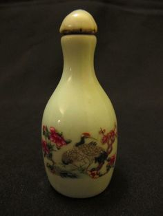 CHINESE 19TH C. PORCELAIN SNUFF BOTTLE #Unknown