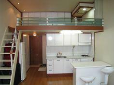 New apartment studio korean ideas – Loft İdeas 2020 Korea Apartment, Korean Apartment Interior, Apartment Plans, Apartment Design, Apartment Ideas, Tyni House, House Rooms, Lofts, Small Apartments