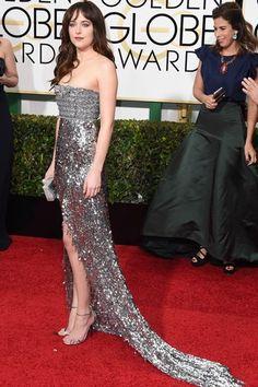 Globo de Ouro 2015 - Dakota Johnson
