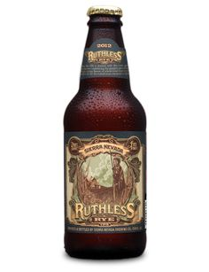 Sierra Nevada Ruthless Rye.  Really well balanced Rye IPA.