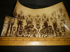 Original Victorian photo of Natives - appear to be Aborigine with body scars (C | eBay