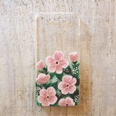 Pink Flowers iPhone 5 Case on Etsy, $45.00