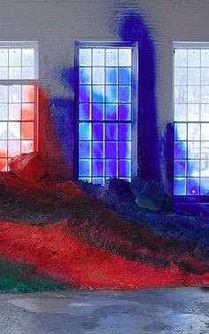 KATHARINA GROSSE http://www.widewalls.ch/artist/katharina-grosse/ #contemporary #art