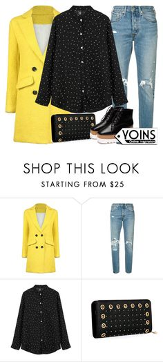 """""""Yoins 23/40"""" by itsybitsy62 ❤ liked on Polyvore featuring Levi's, yoins, yoinscollection and loveyoins"""
