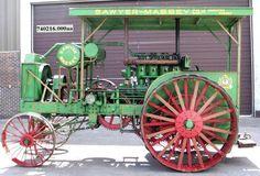 1918 Sawyer-Massey 20-40 Tractor