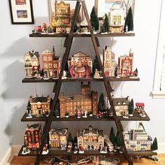 6 ft Wooden Ladder Christmas Village Display Craft Show | Etsy