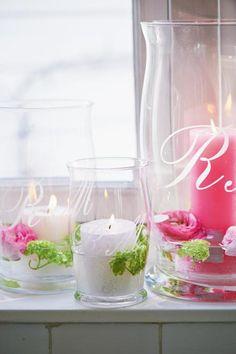 Heerlijke voorjaarskleuren, prachtige kaarsenhouders van Riviera Maison!