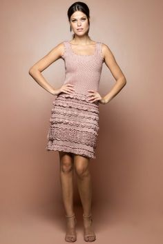 Vestido Crochet Longo Monaco Off White - Vanessa M - vanessamontoro