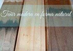 5 Formas De Tenir La Madera De Forma Natural Tenir Madera Tintas Para Madera Como Pintar Madera