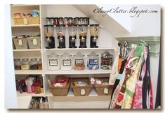 Gum Ball Storage | No Matter How Big, Small or Cluttered Your Pantry Is, You Can Get It Organized. Here Are 17 Pantries That Prove It!