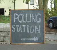 chalk board Polling Stations, Chalk Board, Home Decor, Chalkboard, Decoration Home, Room Decor, Chalkboards, Home Interior Design, Home Decoration
