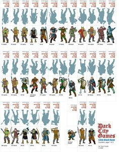 graphic regarding Dnd Printable Minis referred to as 278 Most straightforward dd paper tokens shots inside of 2019 Dd, Myth