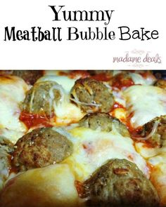If you are looking for an easy weeknight meal your whole family will love, then you have got to try this yummy Baked Meatball Bubble Biscuits