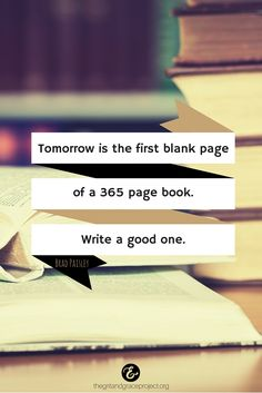 So write a good one! #gritandgracelife #NewYearMotivation #NewYearQuotes