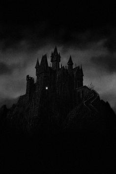 Find images and videos about horror, creepy and castle on We Heart It - the app to get lost in what you love. Gothic Aesthetic, Slytherin Aesthetic, Black And White Aesthetic, City Aesthetic, Foto Fantasy, Dark Fantasy, Black Aesthetic Wallpaper, Aesthetic Wallpapers, Chateau Harry Potter