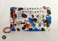 Chanel, bag, bolsa pintada