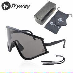2253e5c94c8 2017 classic Retro sunglasses Bike cycling eyewear sports motocross goggles  oculos De sol gafas Red Fire iridium mens sunglasses