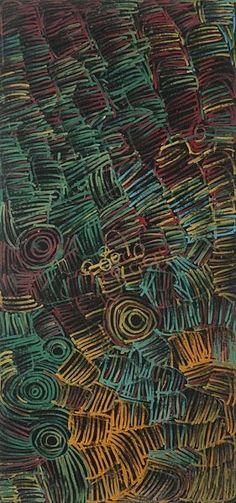 Minnie Pwerle - Awelye Atnwengerrp  2001, 353 x 165 cm