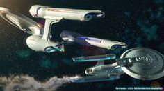 Little Lost Ship by rushedart on deviantART Star Trek Show, Star Wars, Warp Drive, Starfleet Ships, Star Trek Images, Star Trek Enterprise, Enterprise Ship, Ship Of The Line, Star Trek Into Darkness