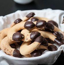 Greek Sweets, Greek Desserts, Greek Recipes, Fun Desserts, Biscuits, Sweets Recipes, Cookie Recipes, Tea Cakes, Greek Cookies
