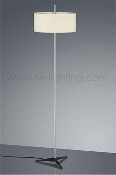 Baulmann Leuchten Led Floor Lamp Rise And Fall With Touch Sensor On