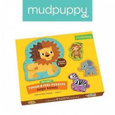 Puzzle sensoryczne Mudpuppy - safari - MamaGama: SPRAWDZONE i przydatne akcesoria dla mam i dzieci.