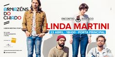 Portugal Rebelde: LINDA MARTINI CELEBRAM RECORD STORE DAY COM CONCER...