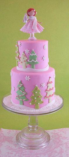 Baby christmas cake