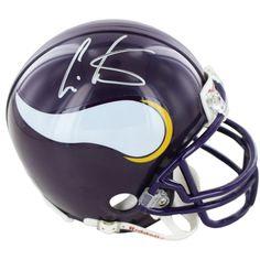 Steiner Cris Carter Vikings Signed Mini Helmets