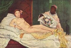 Edouard Manet, 1863, Olympia, Musée d'Orsay