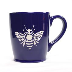 Honey Bee coffee mugs by Bread and Badger