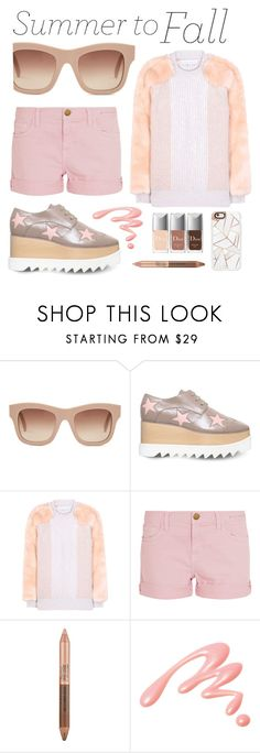 """Summer to Fall"" by groove-muffin ❤ liked on Polyvore featuring STELLA McCARTNEY, Current/Elliott, Estée Lauder, Chantecaille and Casetify"