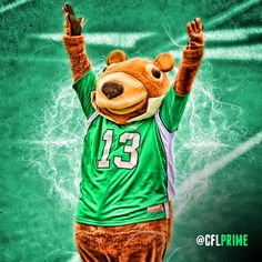 Gainer the Gopher, Saskatchewan Roughriders