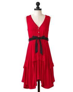 Louisiana-Lafayette Ragin' Cajuns | Team Flirty Dress | meesh & mia