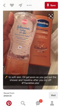 Actually after showering, put the lotion on then put on the oil on to seal in moisture!