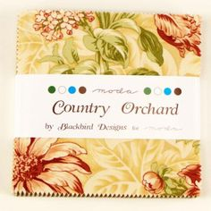 Country Orchard Charm Pack by Blackbird Designs by StacksOfStash