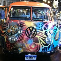 take A Picture next to this VW bus at Two Old Hippies in Nashville... and maybe some shopping! #OneOfAKindNashville