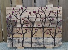 pallet picture art | Pallet Wall Art and Decor Ideas | Pallet Furniture DIY