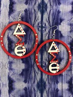 Delta Sigma Theta Earrings