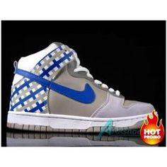 Mens Nike Dunk High Crisp Khaki White Beige Medium Blue 5f95eea6f