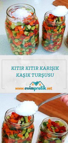 Fermented Foods, Filet Crochet, Bon Appetit, Pasta, Salads, Food And Drink, Menu, Yummy Food, Homemade