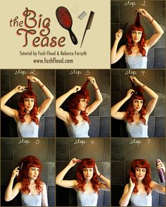 The Big Tease - for a vintage inspired wedding