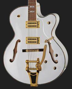 Harley Benton BigTone Trem White – Thomann United States Motocross Racer, Guitar Body, Jazz Guitar, Acoustic, Guitars, Envy, United States, Style, Train