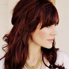 Love the cut and color.
